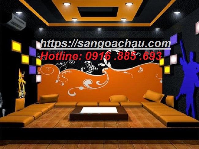 Bán vật liệu trang trí phòng karaoke