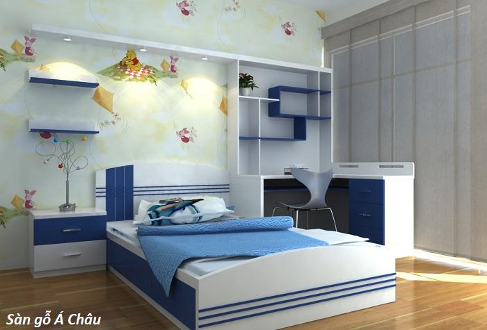 Bí quyết chọn sàn gỗ cho phòng ngủ của trẻ