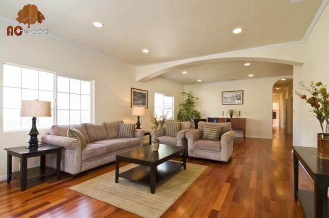 Cách chọn màu sàn gỗ hợp phong thủy