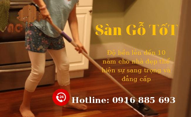 Cách khắc phục tình trạng phồng rộp cong vênh cho sàn gỗ