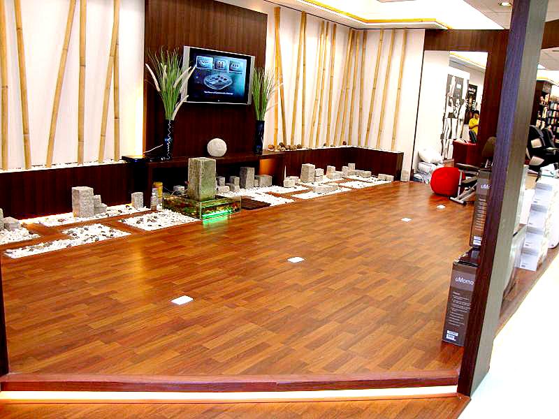 Chọn lót sàn gỗ cho phòng khách