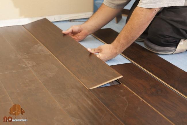 Hướng dẫn lắp đặt sàn gỗ Binyl tại nhà
