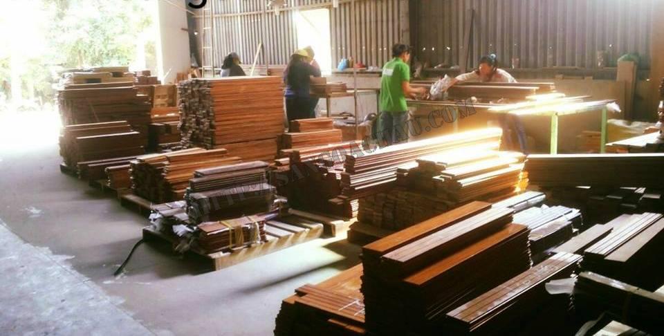 Sàn gỗ tự nhiên chiu liu cao cấp