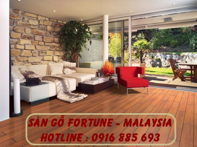 Sàn Gỗ Fortune - Malaysia