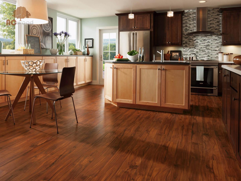 Sàn gỗ màu sáng phù hợp với những không gian nào