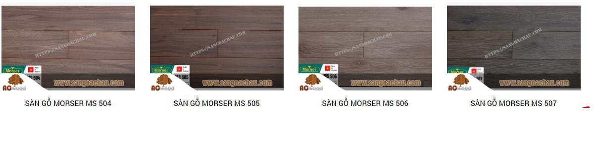 Sàn gỗ công nghiệp Morser thân thiện với môi trường