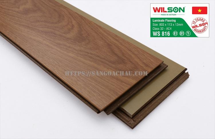 Sàn gỗ Wilson giá rẻ cho mọi nhà