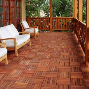 Ưu điểm của sàn gỗ vỉ nhựa ngoài trời