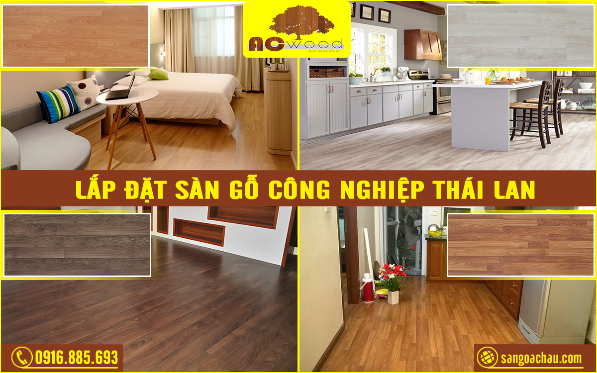 báo giá sàn gỗ công nghiệp Thái Lan