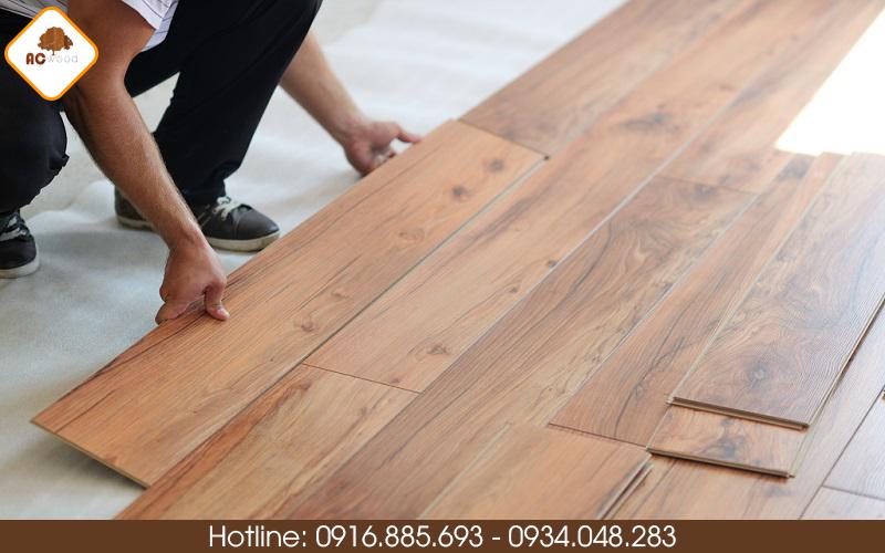 lắp đặt sàn gỗ không bị mối mọt